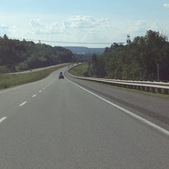 Photo taken at Autoroute 55 Nord by Phillip on 6/17/2012