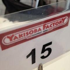 Photo taken at Yakisoba Factory by Jefferson M. on 8/31/2012
