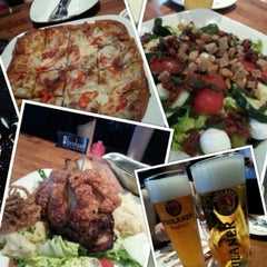 Photo taken at Brotzeit German Bier Bar & Restaurant by WeiQi W. on 7/29/2012