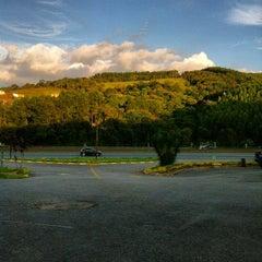 Photo taken at Gruta da Pamonha by Carla Cristina S. on 3/4/2012