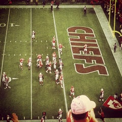 Photo taken at Arrowhead Stadium by Bryan S. on 8/11/2012