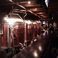 Photo taken at Steamworks Brewing Company by Fabio P. on 2/21/2012