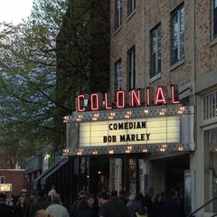 Photo taken at The Colonial Theatre by Matthew A. on 4/27/2012
