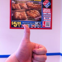 Photo taken at Domino's Pizza by Jake G. on 4/18/2012
