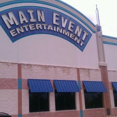 Photo taken at Main Event Entertainment by Gabe on 7/1/2012