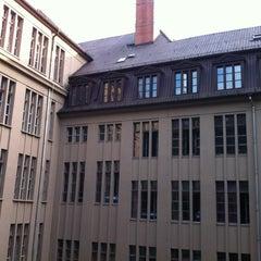 Photo taken at PLUS Berlin Hostel and Hotel by Derek N. on 9/3/2012