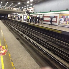 Photo taken at Metro Irarrázaval by Steban E. on 4/11/2012