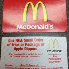 Photo taken at McDonalds by Mandi K. on 7/17/2012