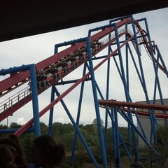 Photo taken at Superman: Ultimate Flight by David L. on 8/10/2012