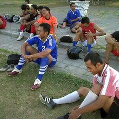 Photo taken at Lapangan Lagoon by Catur M. on 9/22/2011