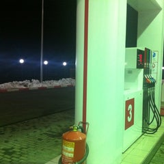 Photo taken at АЗС Лукойл by Костя К. on 11/6/2011