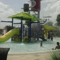 Photo taken at Lake Eva Aquatic Center (Water Park) by Em A. on 8/14/2011