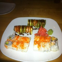 Photo taken at Tsunami Japanese Steakhouse and Sushi Bar by Scottie H. on 9/9/2012