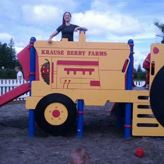 Photo taken at Krause Berry Farms & Estate Winery by Sara M. on 6/23/2012