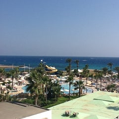 Photo taken at Adams Beach Hotel by Anton G. on 8/15/2012