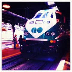 Photo taken at Union Station Platform 5 by Cara L. on 6/26/2012