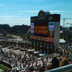 Photo taken at TCF Bank Stadium by Robert A. on 9/17/2011