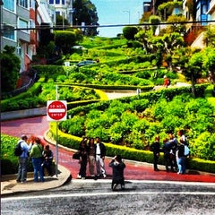 Photo taken at Lombard Street by Kimberlin on 9/12/2012