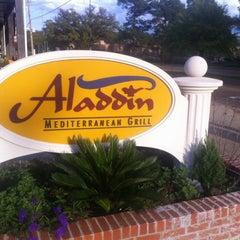 Photo taken at Aladdin Mediterranean Grill by Jimmie J. on 3/18/2012