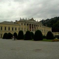 Photo taken at Villa Olmo by Roberta T. on 7/14/2012