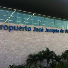Photo taken at Aeropuerto Internacional José Joaquín de Olmedo (GYE) by Franco C. on 6/7/2012
