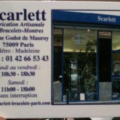 Photo taken at Scarlett by Pierre C. on 10/14/2011