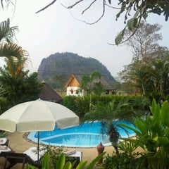 Photo taken at Homestay Chiang Rai by Fred F. on 1/31/2012