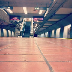 Photo taken at 16th St. Mission BART Station by Jared Z. on 11/18/2011