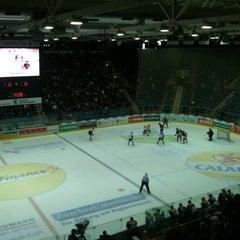 Photo taken at Swiss Arena by Thomas G. on 9/30/2011