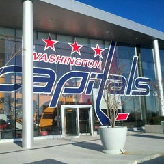 Photo taken at Kettler Capitals Iceplex by Eric S. on 12/26/2011