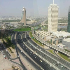 Photo taken at Fairmont Dubai by Doodah A. on 7/17/2012