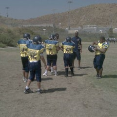 Photo taken at Tahquitz High School by Kevin I. on 9/10/2011