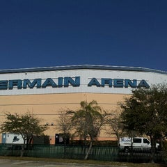 Photo taken at Germain Arena by Aaron on 2/22/2012