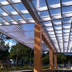 Photo taken at Terminal Rodoviário Frederico Ozanam by Elan P. on 11/3/2011