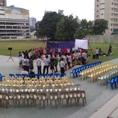 Photo taken at Methodist Boys' Secondary School by Nic C. on 6/30/2012