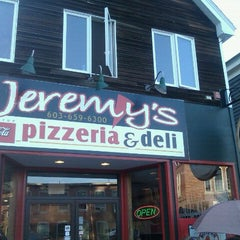 Photo taken at Jeremy's Pizzeria & Deli by CJ L. on 8/13/2011