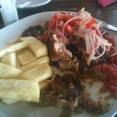 Photo taken at Buka Restaurant by Gee M. on 2/24/2012