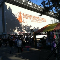 Photo taken at California Rodeo Salinas by Jacob W. on 7/21/2012