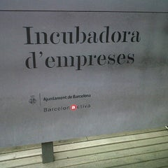 Photo taken at Barcelona Activa Vivero de Empresas by Dagoberto I. on 5/17/2012