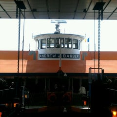 Photo taken at Staten Island Ferry Boat - Andrew J. Barberi by alison on 3/26/2012