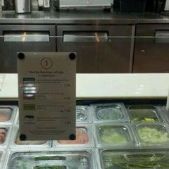 Photo taken at Rollbotto Sushi by kat c. on 4/29/2012