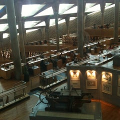 Photo taken at Bibliotheca Alexandrina | مكتبة الإسكندرية by Thomas G. on 10/17/2011