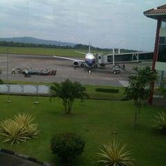 Photo taken at Pattimura International Airport (AMQ) by Akang G. on 10/14/2011