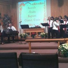 Photo taken at Seattle Arabic Baptist Church by Jirius I. on 12/25/2011