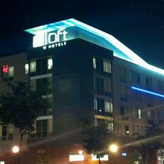Photo taken at Aloft Minneapolis by Bob E. on 6/6/2012