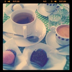 Photo taken at Brigadeiro Doceria & Café by Isabelle R. on 7/14/2011