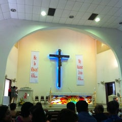 Photo taken at Assumption Church by Mervin D. on 6/4/2011