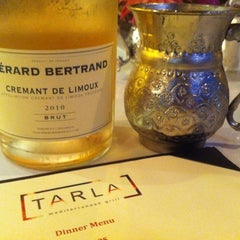 Photo taken at Tarla Bar + Grill by Melissa P. on 8/18/2012