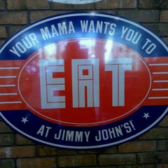 Photo taken at Jimmy John's by Chris S. on 3/21/2011