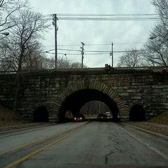 Photo taken at Rockefeller Park by Dorjan S. on 2/22/2012